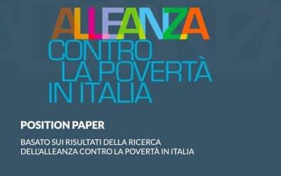 Le proposte di Alleanza per il Reddito di Cittadinanza